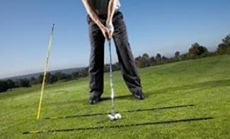 tiges d'alignement de golf